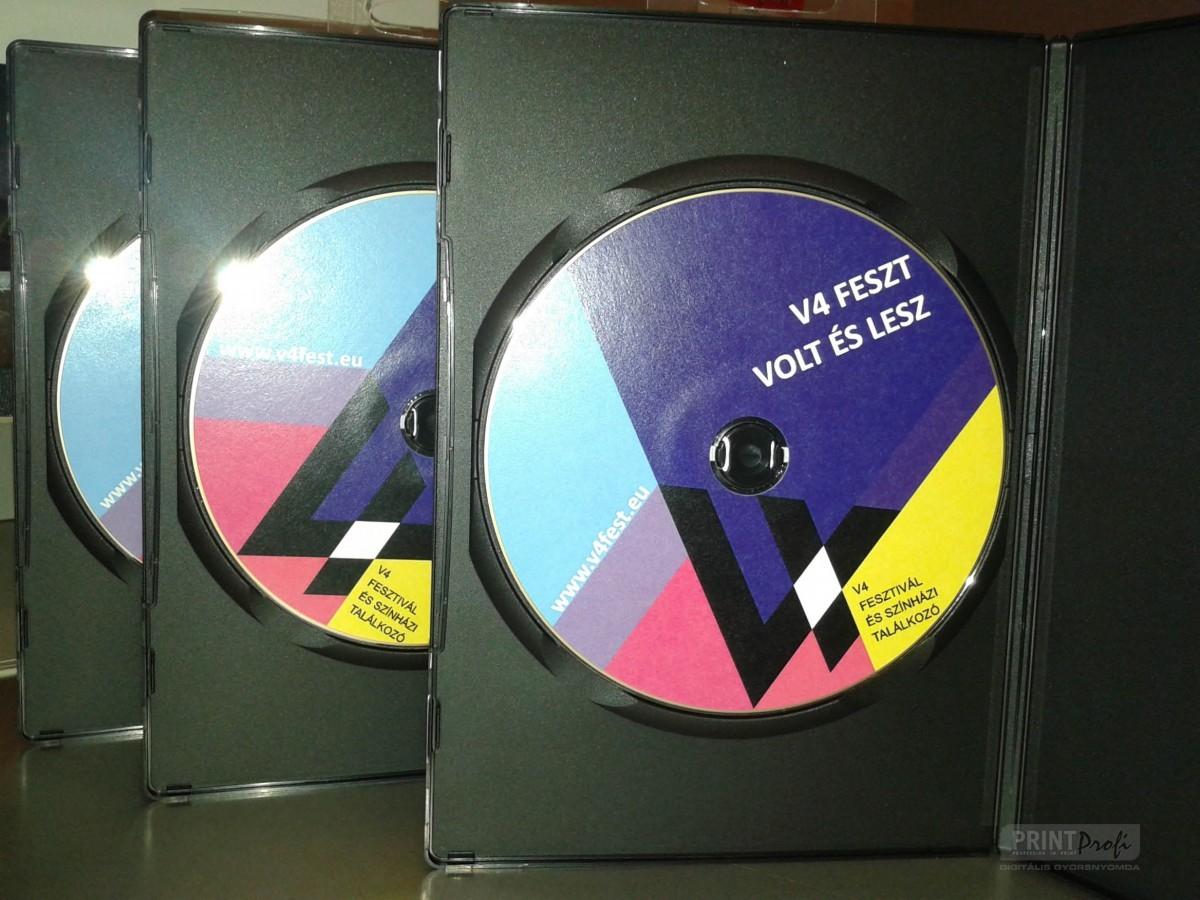 CD nyomtatás, másolás