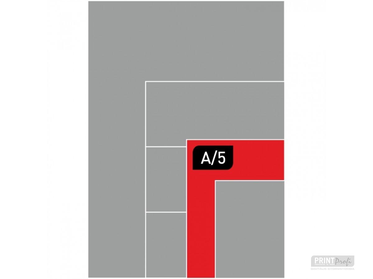 A5 fénymásolás
