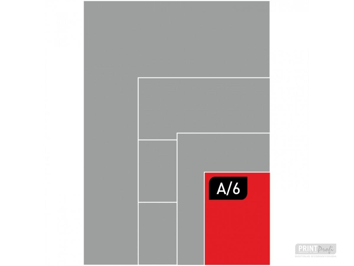 A6 fénymásolás