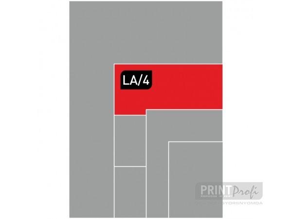LA4 digitális nyomtatás