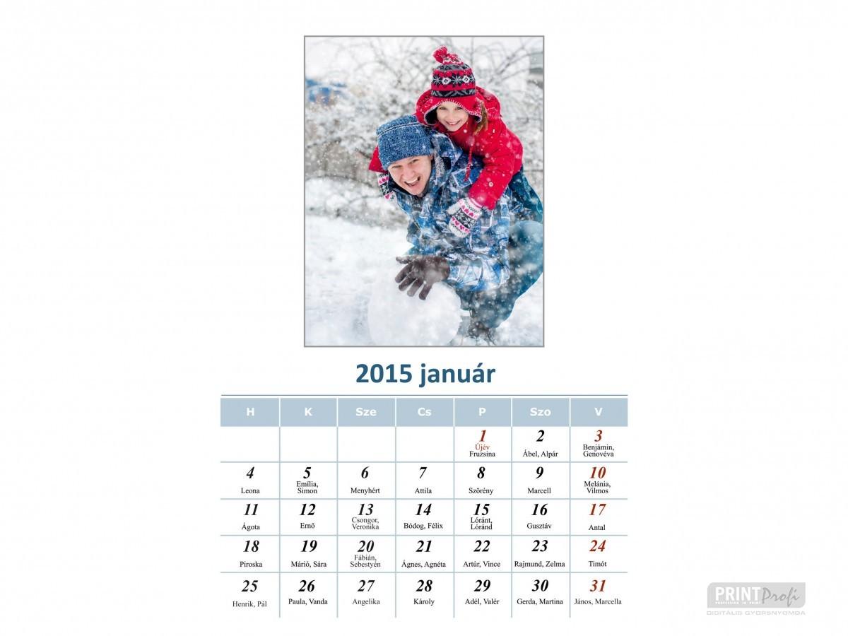 Fényképes naptár