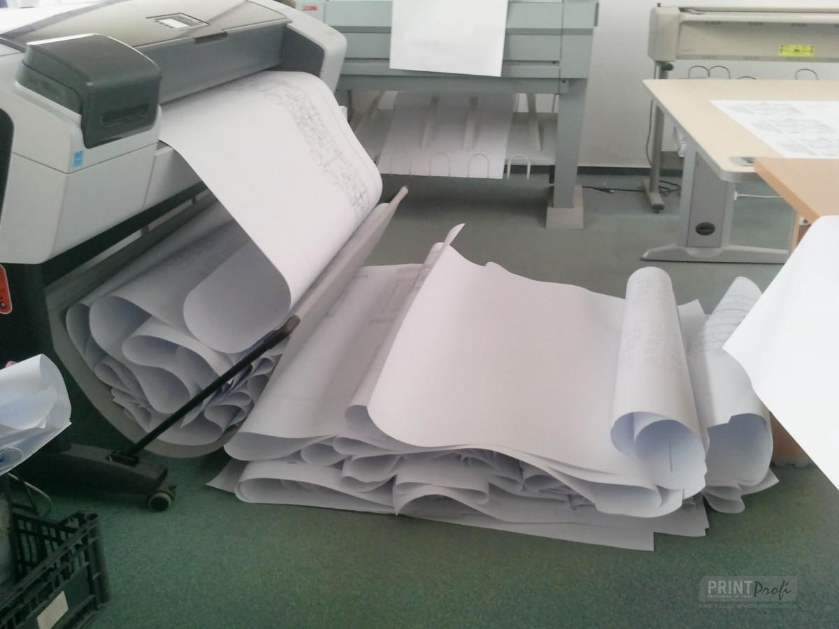 Tervrajz nyomtatás