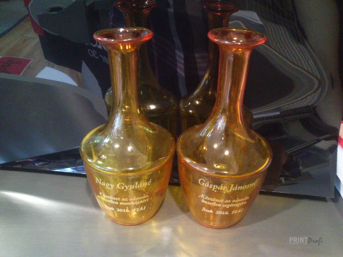 Üveggravírozás, pohárgravírozás